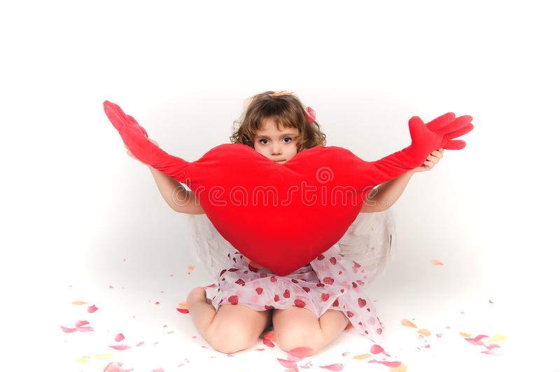 Valentine's Day Cupid royalty free stock photography