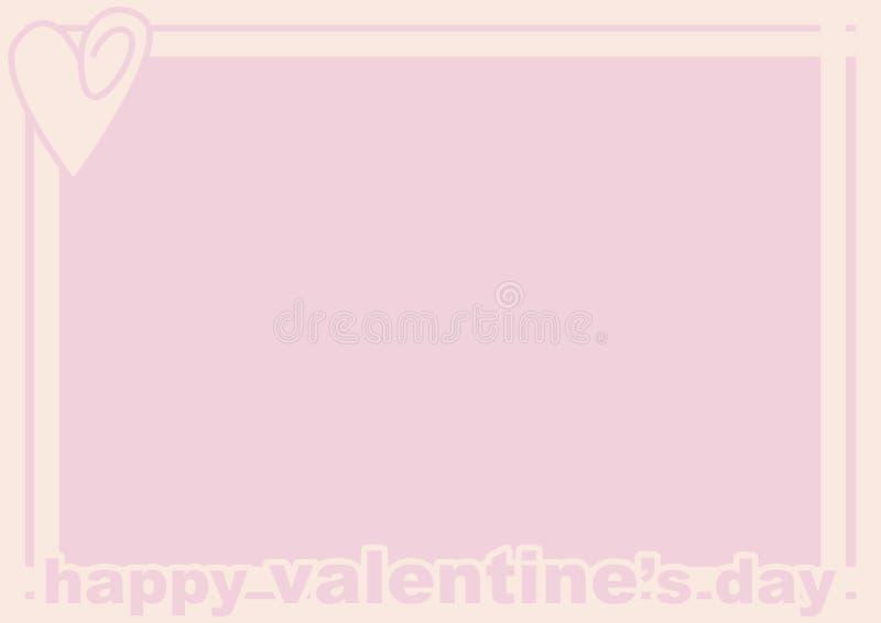 Valentine S Day Frame Royalty Free Stock Photos