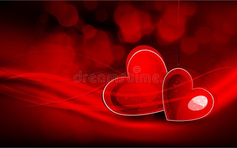 Valentine's Day Greeting Card stock illustration