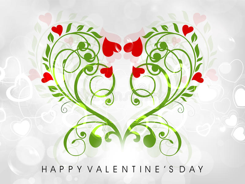 Download Valentine's Day Greeting Card Or Gift Card Stock Illustration - Illustration of anniversary, heart: 28673036
