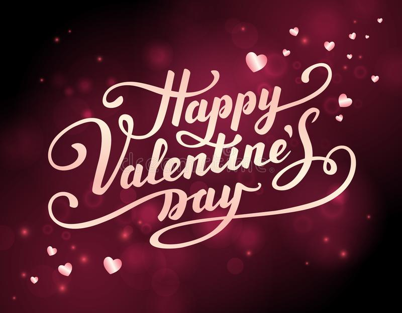 Valentine s Day greeting card. vector illustration