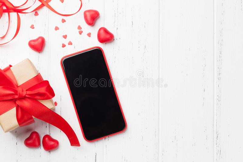 Valentine`s day greeting card royalty free stock photos