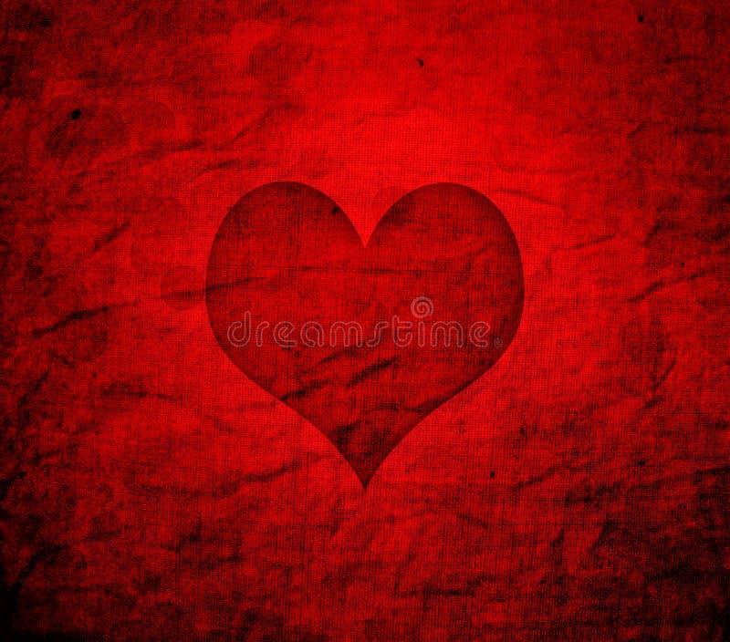 Valentine's day grunge background vector illustration