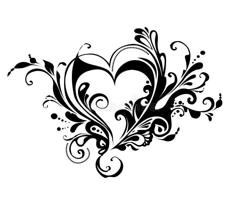 Valentine's day heart stock illustration