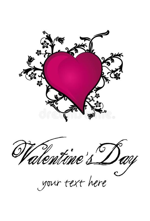 Download Valentine`s Day Heart stock vector. Illustration of background - 4051814
