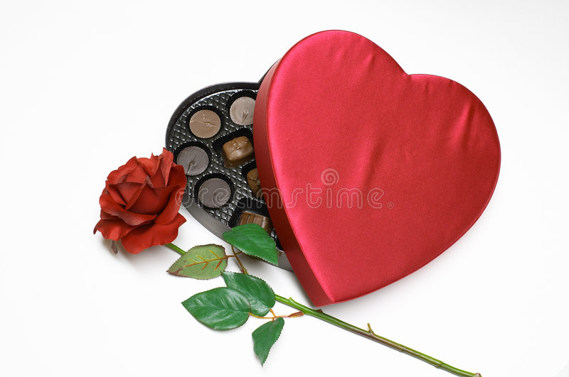 Download Valentine's Day Heart With Rose Stock Photos - Image: 461103
