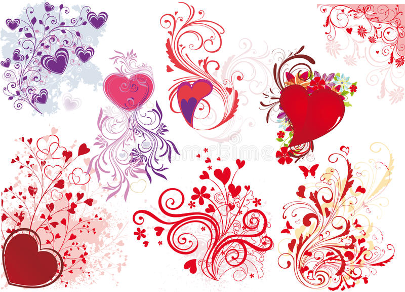 Download Valentine's Day Illustrations Stock Vector - Image: 12605351