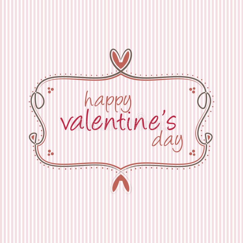 Valentine'S Day Label Royalty Free Stock Photography - Image: 36094847