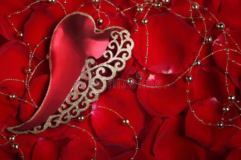 Download Valentine's day ornament stock photo. Image of marriage - 22741886