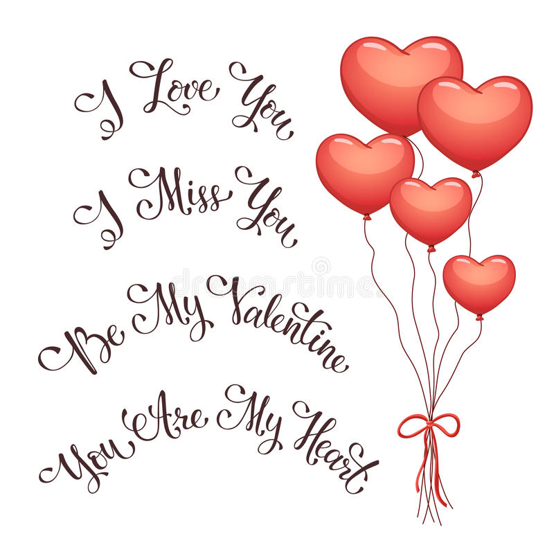 valentine's day phrases stock vector. image of banner - 65806402, Ideas