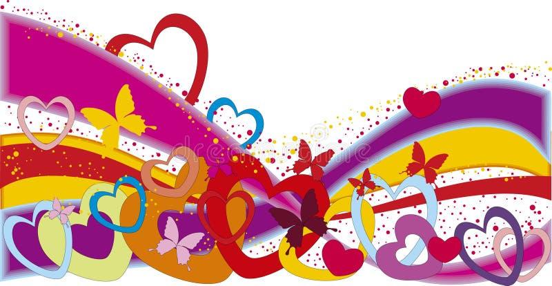 Download Valentine's day rainbow stock vector. Illustration of birthday - 13372061
