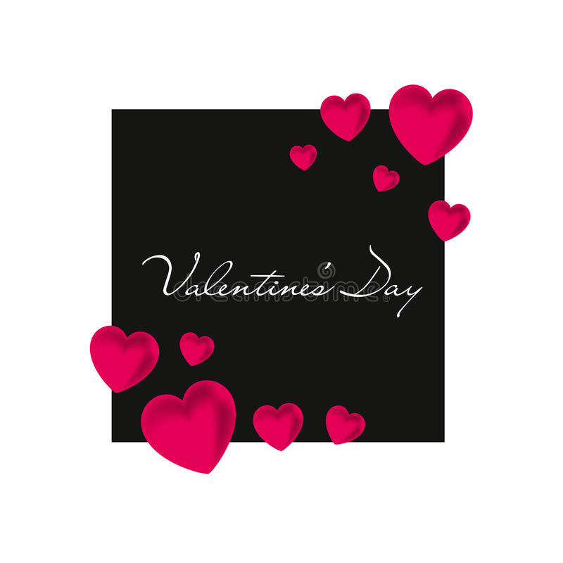 Valentine`s Day. Red heart. Vector illustration. EPS10 vector illustration