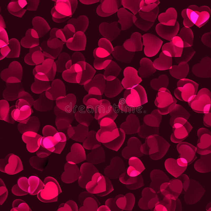 Valentine s Day romantic background. EPS 8