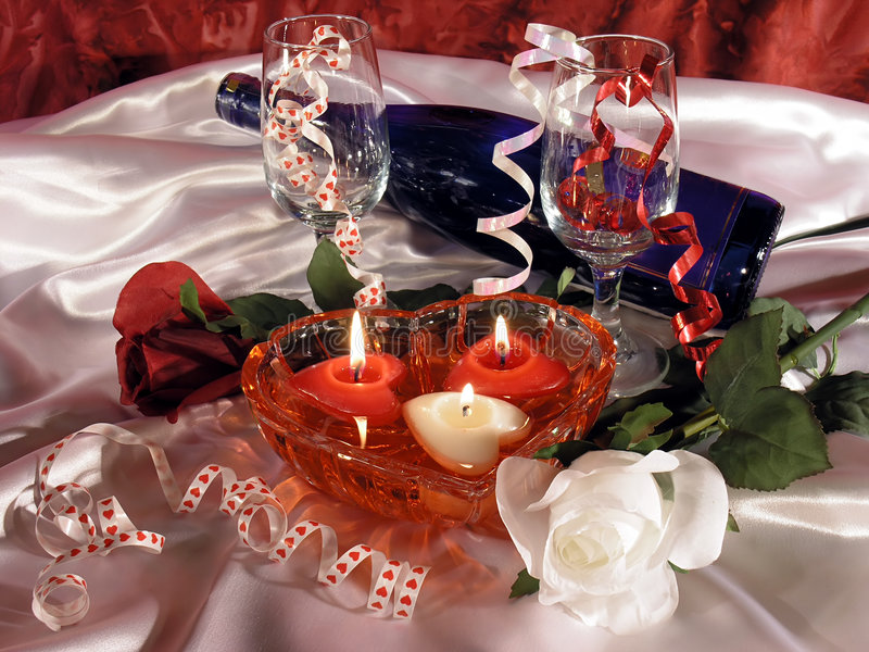 Download Valentine's Day Still Life Royalty Free Stock Photos - Image: 57988