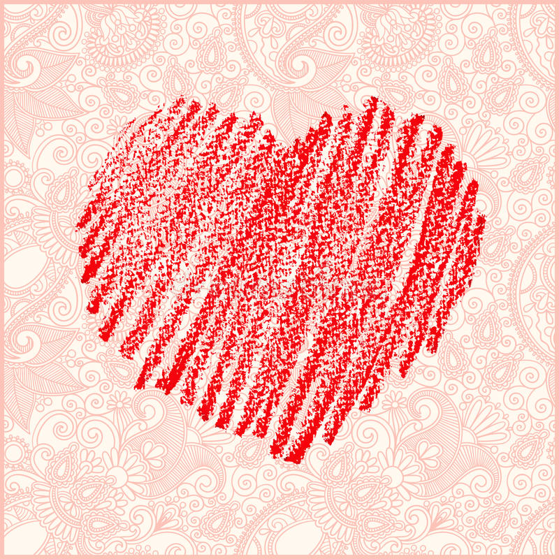 Valentine s day vector card