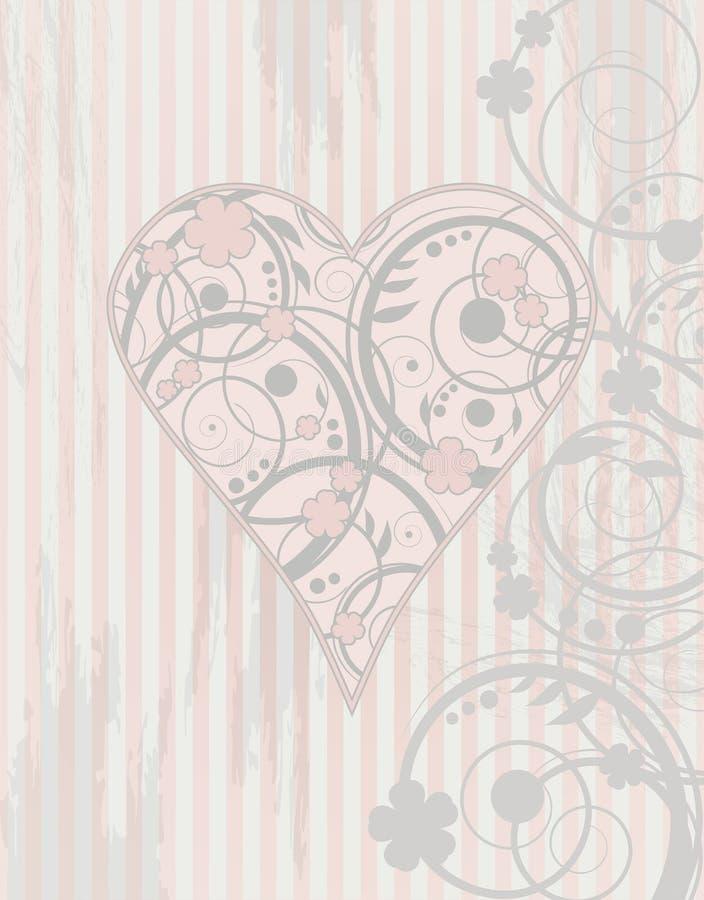 Download Valentine's Day Vintage Card Stock Illustration - Image: 36715963