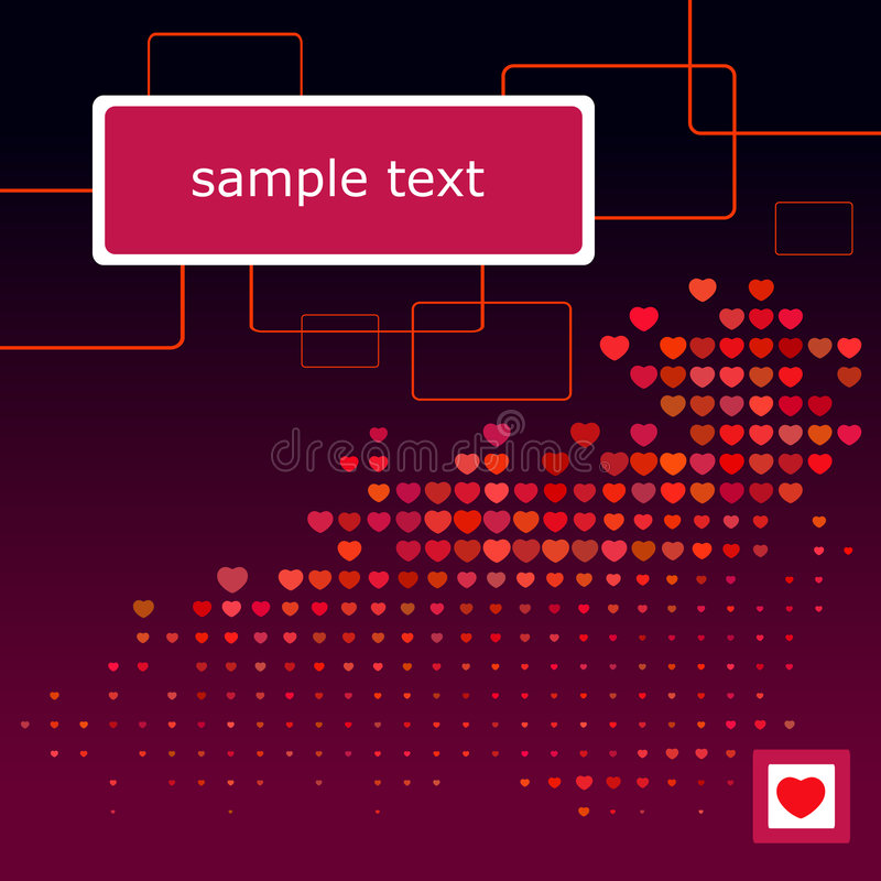 Valentine S Day Wallpaper Royalty Free Stock Images