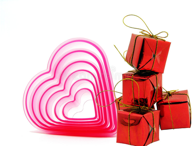 Valentine's gifts stock image