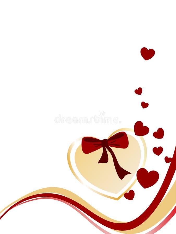 Valentine`s greeting royalty free illustration