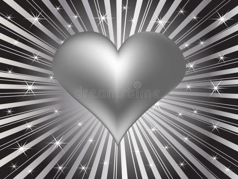 Valentine's greeting card background. Vector illustration royalty free illustration