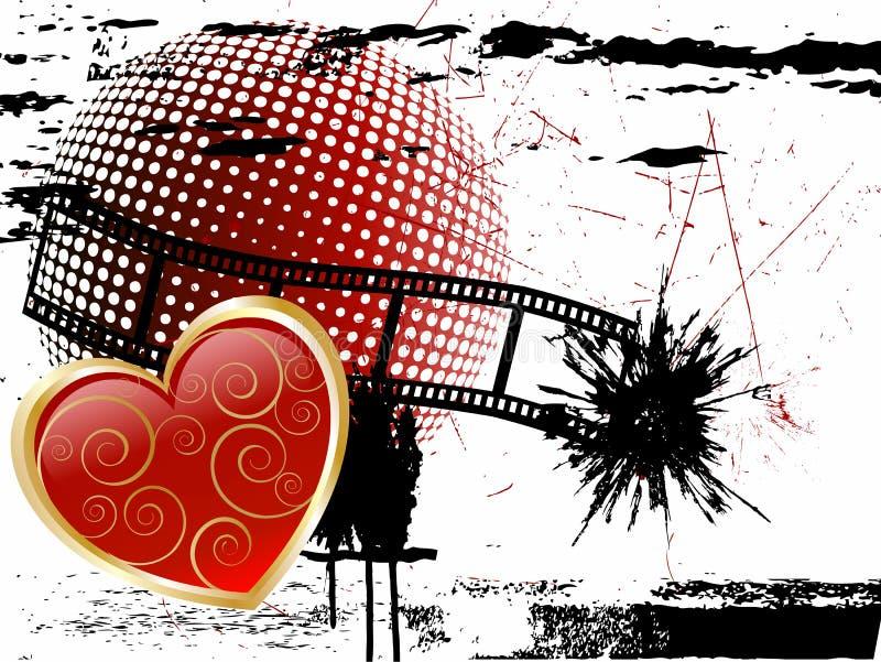 Valentine`s heart vector illustration