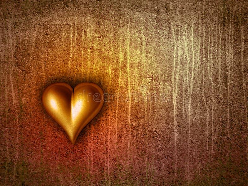 Download Valentine's heart stock illustration. Image of backdrop - 4009117
