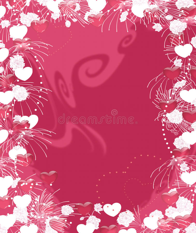 Valentine`s image vector illustration