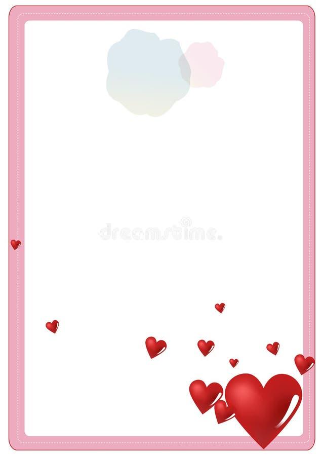 Valentine S Letter Frame Royalty Free Stock Image
