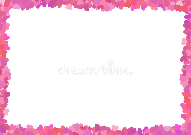 Download Valentine's Pink Frame Royalty Free Stock Photo - Image: 36702425