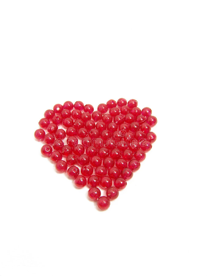 Valentine's red heart stock photos