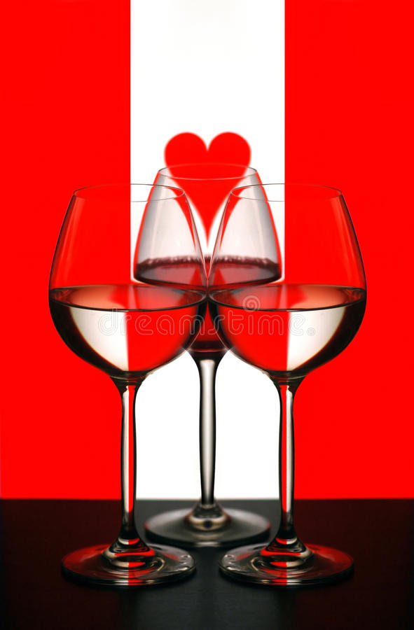 Valentine's still life royalty free stock images