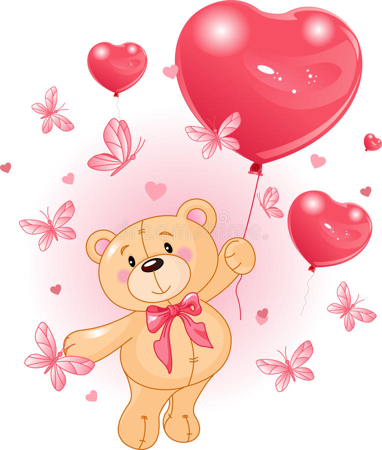 Download Valentine's Teddy Royalty Free Stock Images - Image: 17797169