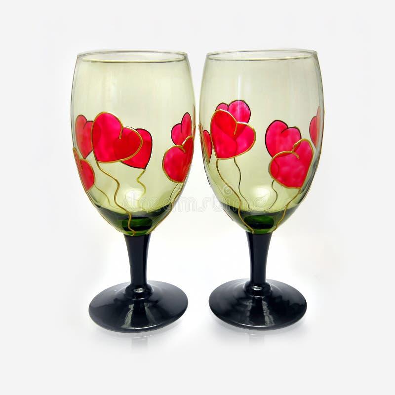 download valentines wine glasses stock image image of birthday 22920333 - Valentine Wine Glasses