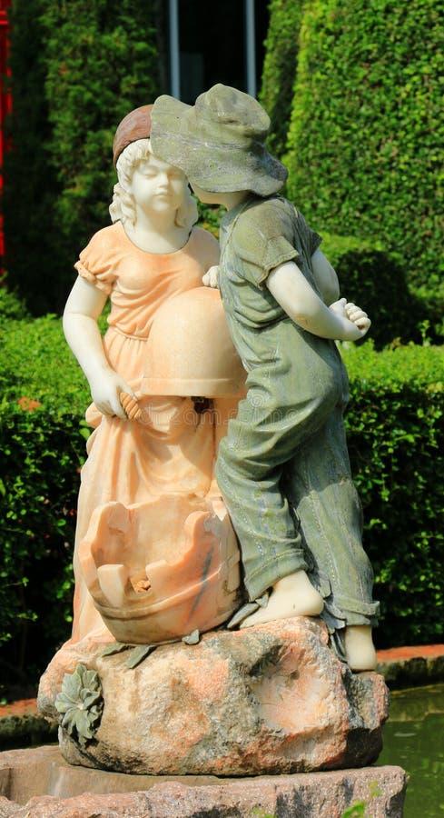 Valentine Sculpture imagens de stock royalty free