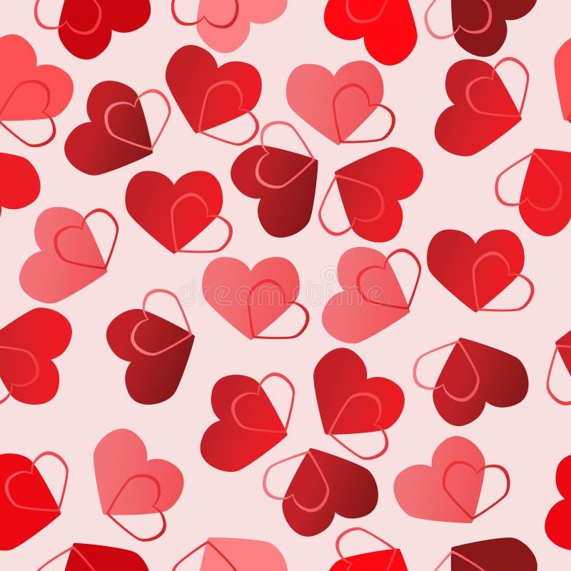 Free Valentine Seamless Background Royalty Free Stock Photo - 7609915