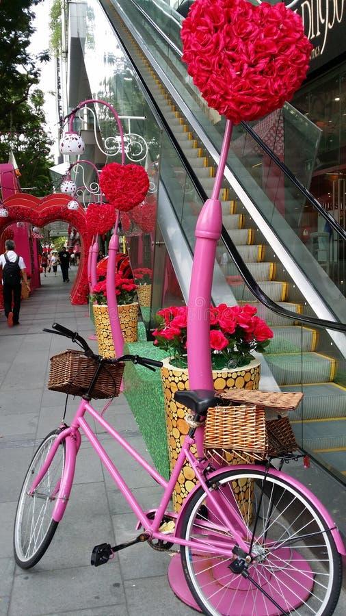 Valentine-straat stock fotografie