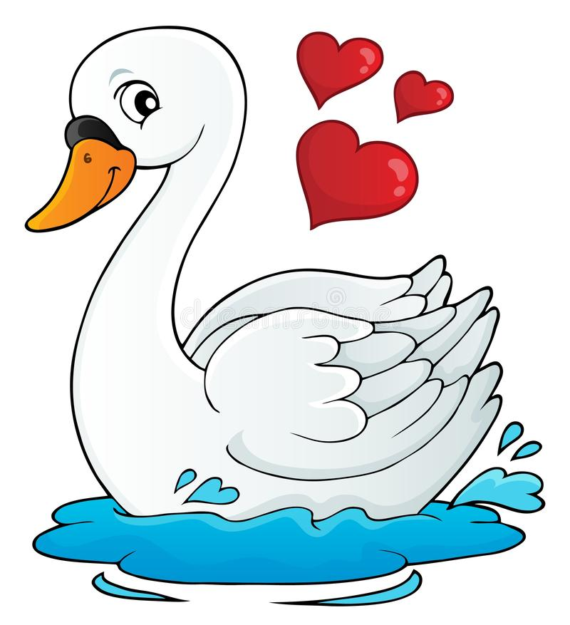 Free Valentine Swan Theme Image 1 Stock Photos - 136598543