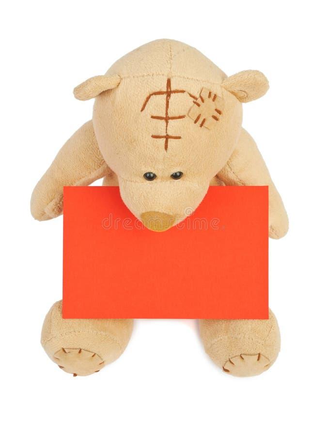 Valentine Teddy Bear stockfotos