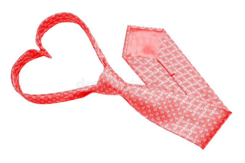 Valentine tie stock photo