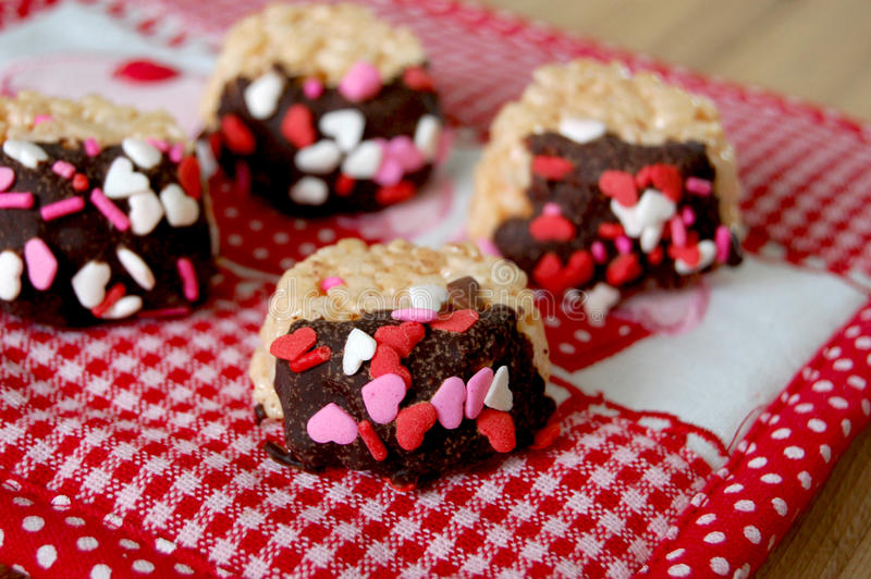 Valentine Treats image stock