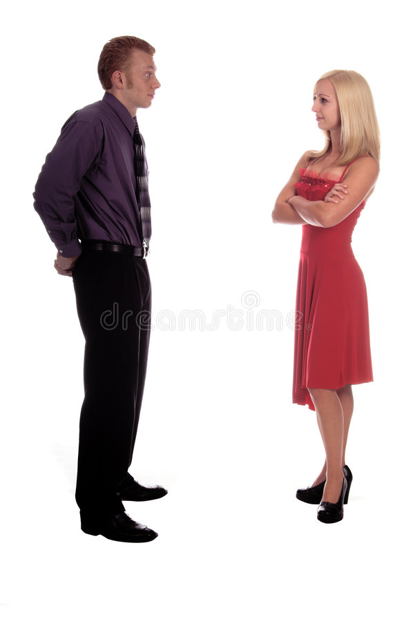 Download Valentine Trouble stock photo. Image of blonde, couple - 1749268