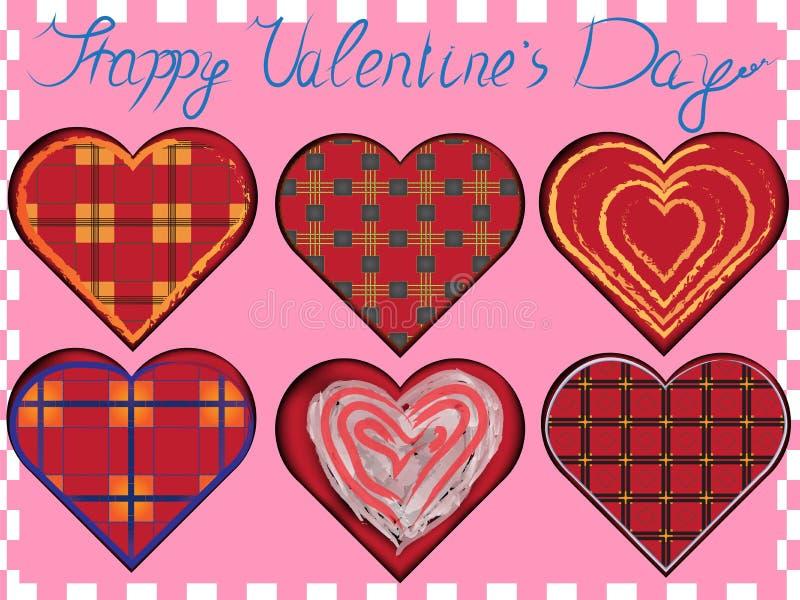 Valentine Vector Set illustration de vecteur