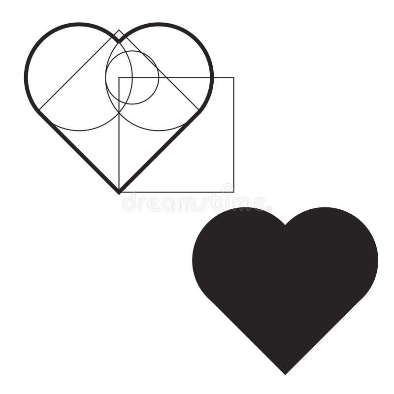 Valentine vectors Valentine heart valentine symbol heart symbol on white background stock illustration