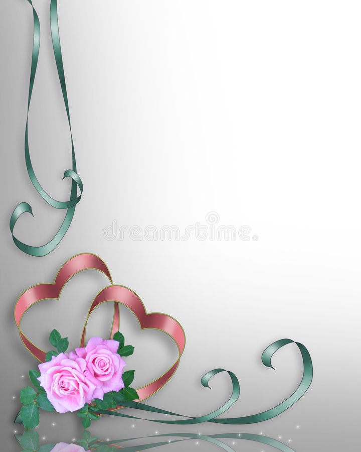 Valentine or Wedding background royalty free illustration