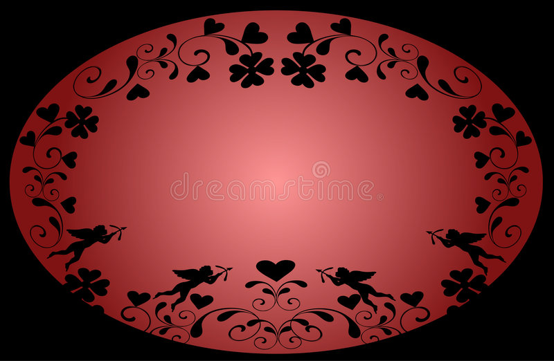 valentines дня предпосылки иллюстрация штока