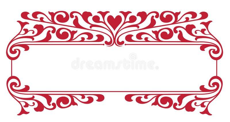 valentines дня экземпляра коробки бесплатная иллюстрация