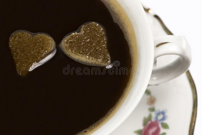 valentines кофе стоковые фото