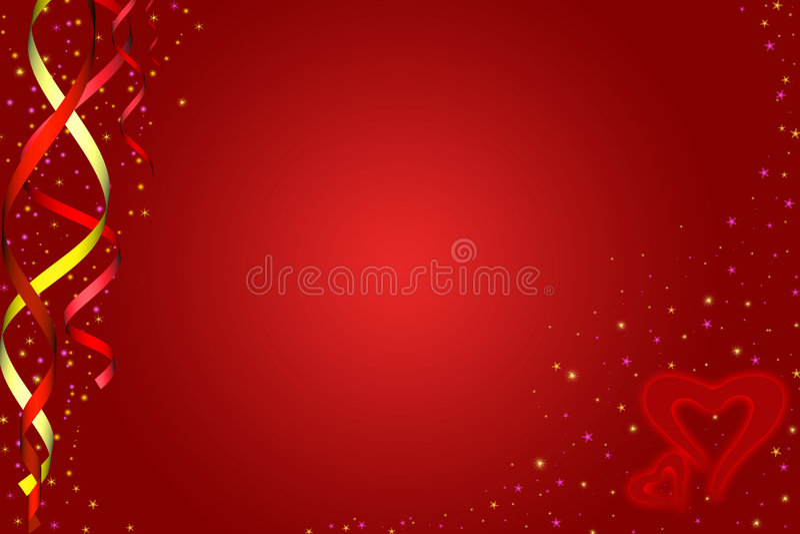 valentines сердец дня бесплатная иллюстрация