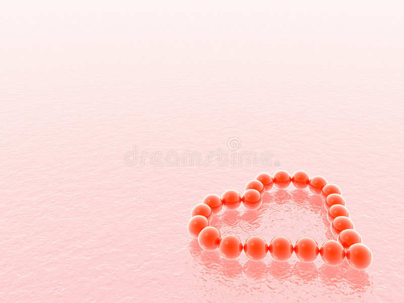 Download Valentines 3D heart stock illustration. Image of canvas - 1451771