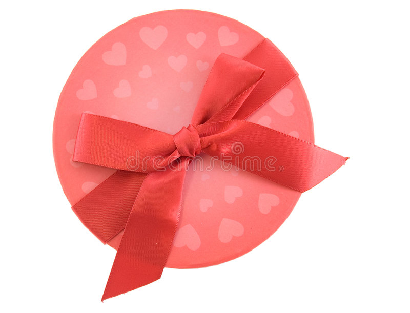 Download Valentines stock photo. Image of ribbon, circle, give - 7598244